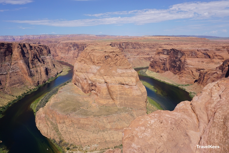 horseshoe bend, colorado river, canyon