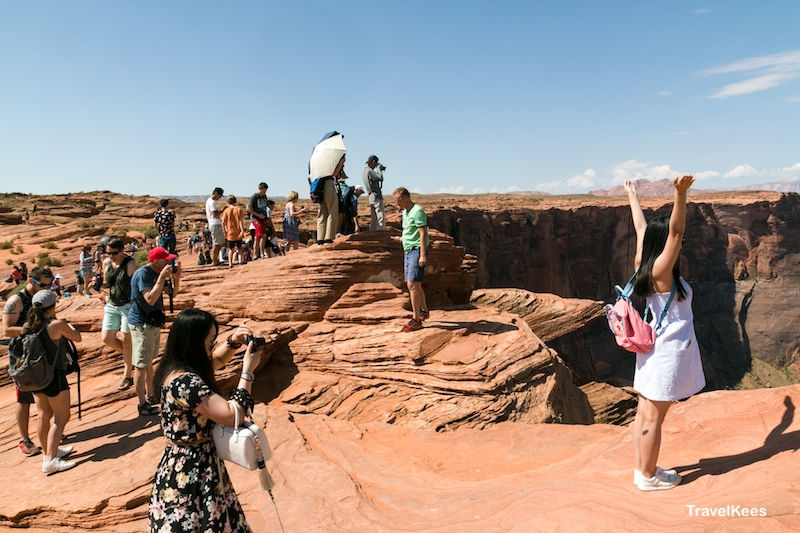 horseshoe bend, visitors, tourists,