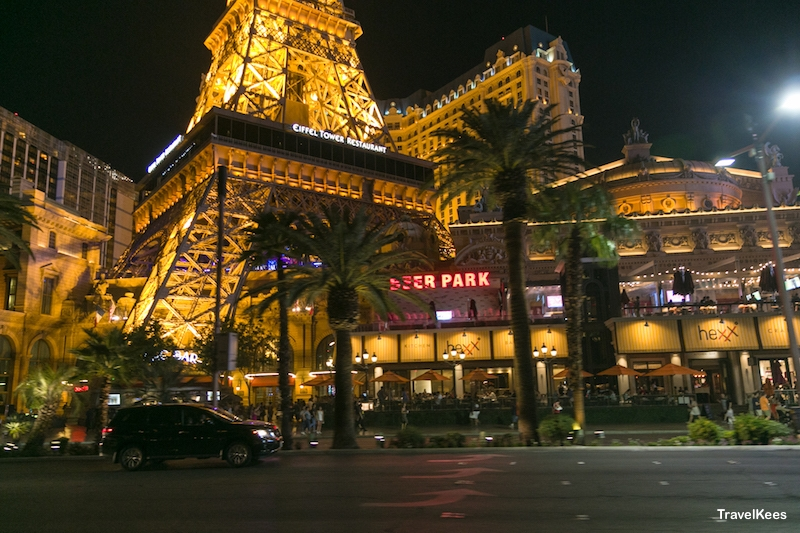 las vegas, night, paris las vegas hotel,