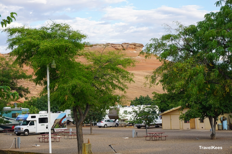 campground, Page