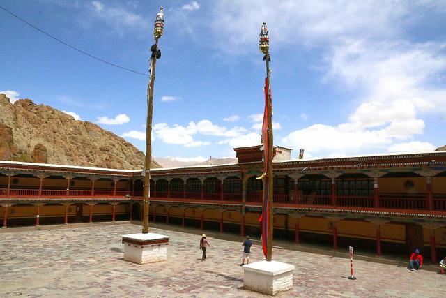 hemis, leh, ladakh, klooster