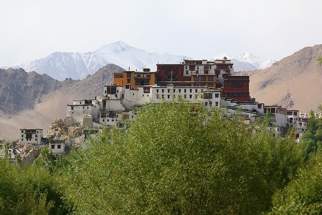 thikse, gompa, monastery, leh, ladakh