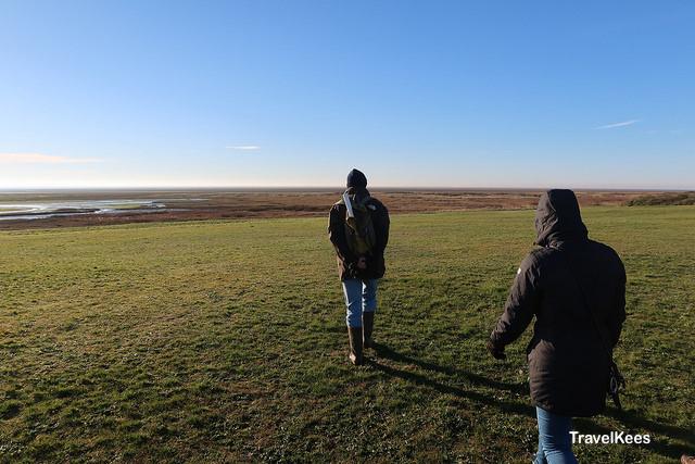schiermonnikoog, wandelen