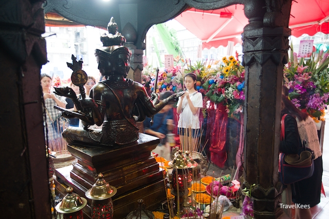 Changchun Phra Phrom, Taipei,
