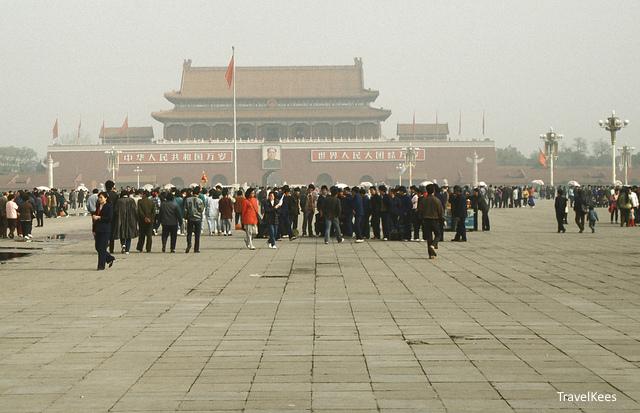 beijing, peking, beijing per fiets, tiananmen, plein van de hemelse vrede,