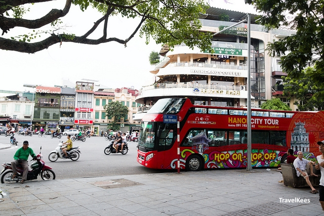 hanoi old quarter, hanoi city tour, hop on hop off,