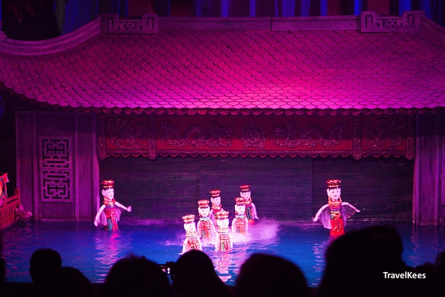 hanoi old quarter, waterpoppentheater, water puppet theatre, hanoi