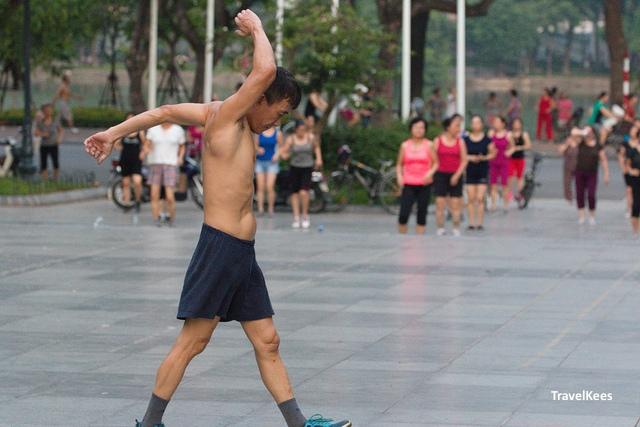 hanoi old quarter, fitness, hanoi