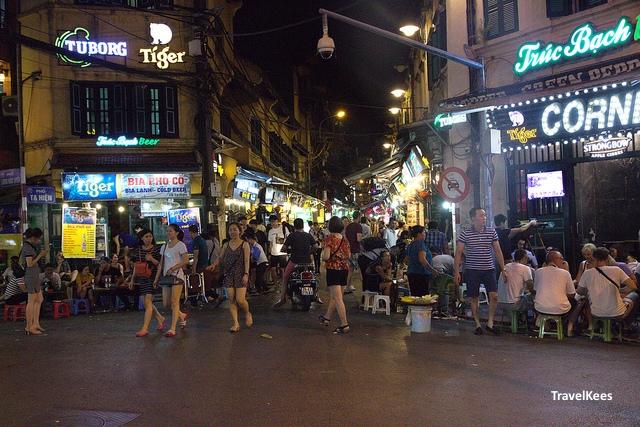 hanoi old quarter, pub street