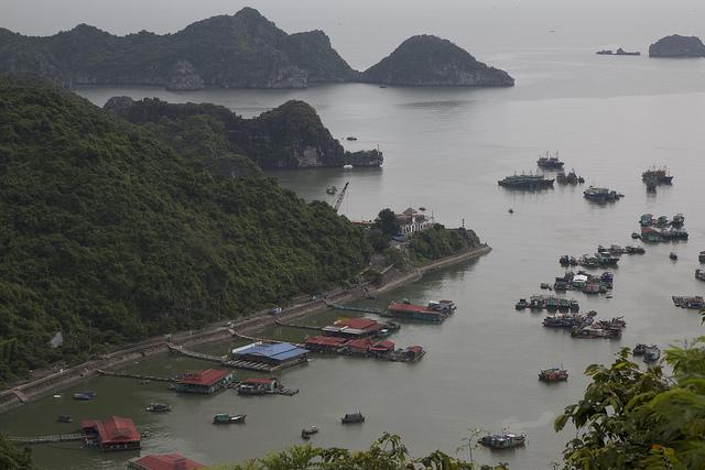 Cat Ba Island, baai,