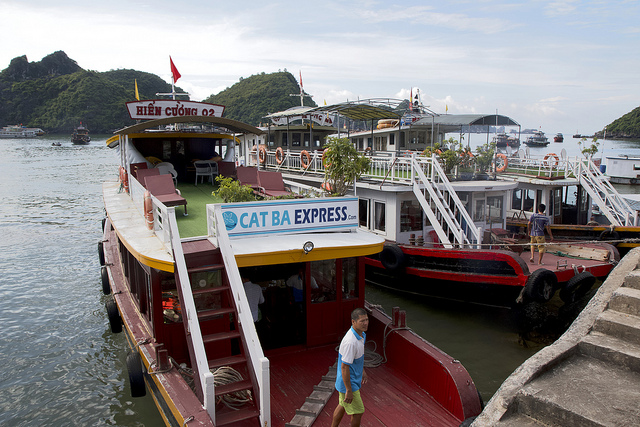 Cat Ba Express, boot, excursie,