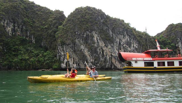 kano, Lan Ha Bay,