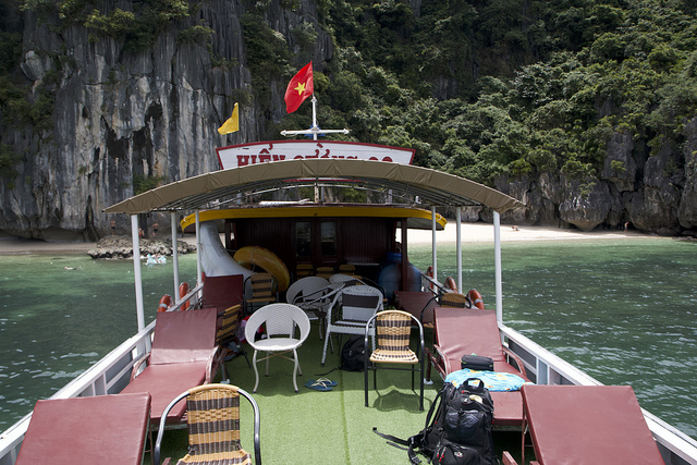 Lan Ha Bay, Cat Ba Express, excursie, rondvaart,