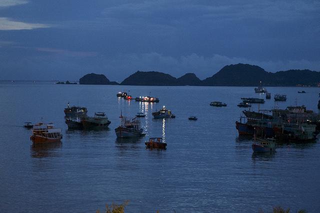 Cat Ba Island, baai