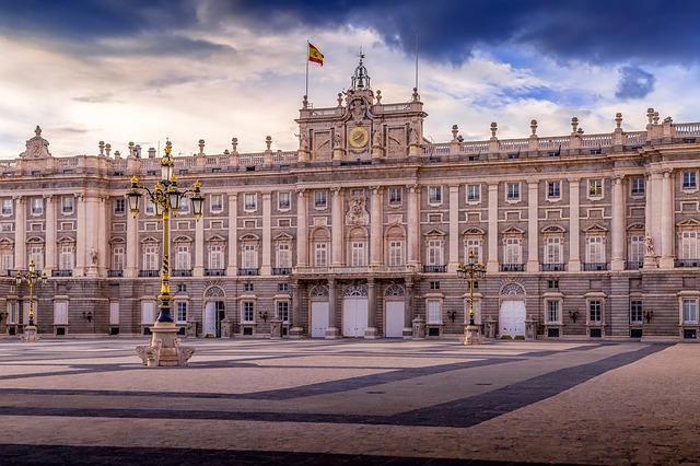 koninklijk paleis madrid, stedentrip madrid