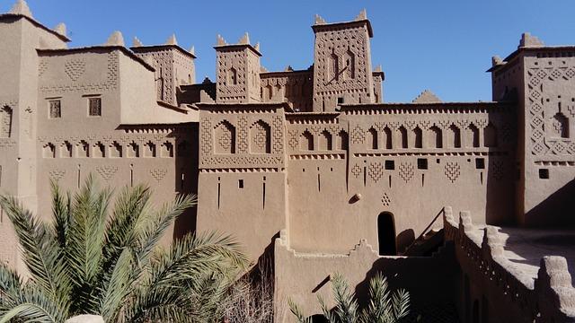 kasba, fly drive marokko