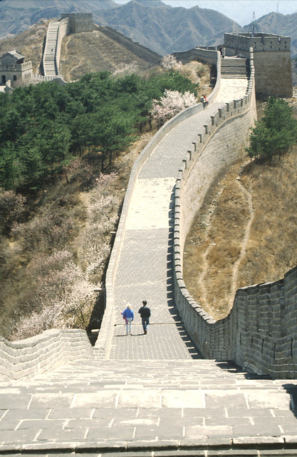 chinese muur, great wall of china,