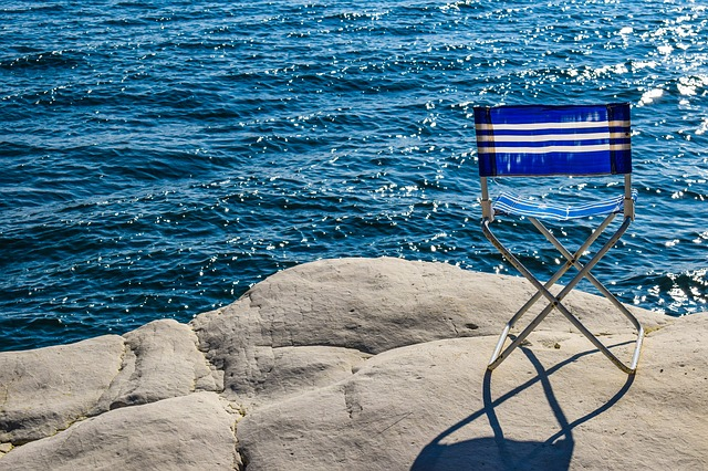 cyprus last minute, chair near the sea