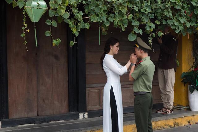 bruidspaar in Hoi An