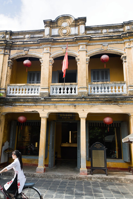 koloniaal huis in het centrum van Hoi An