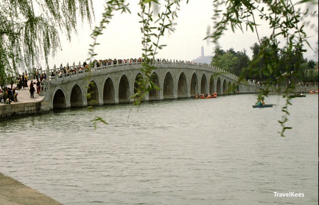17 bogen brug zomerpaleis