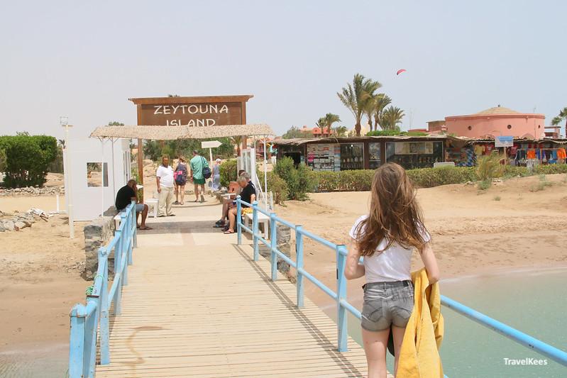 Zeytouna Island, El Gouna, Rode Zee, egypte met kinderen