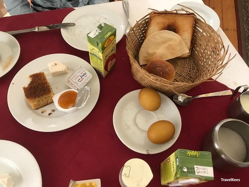 ontbijt in windsor hotel, cairo