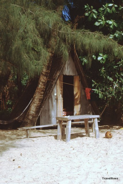 beach cottage, tioman island