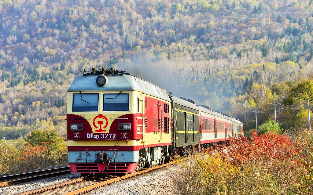 trein in china,