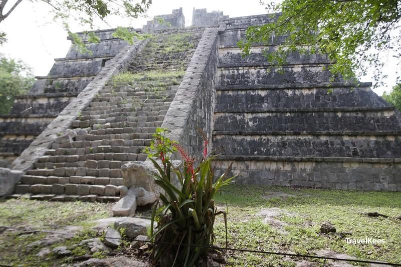 osario piramide, chichen itza