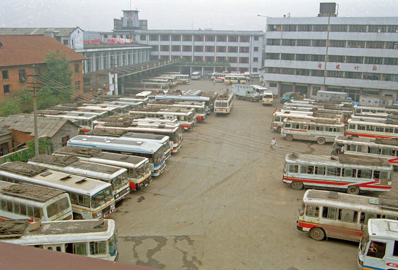 bus station Chengdu