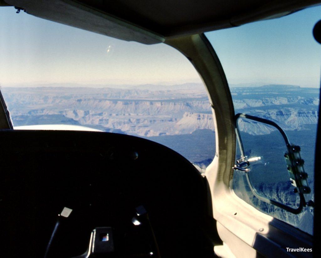 grand canyon vanuit vliegtuig