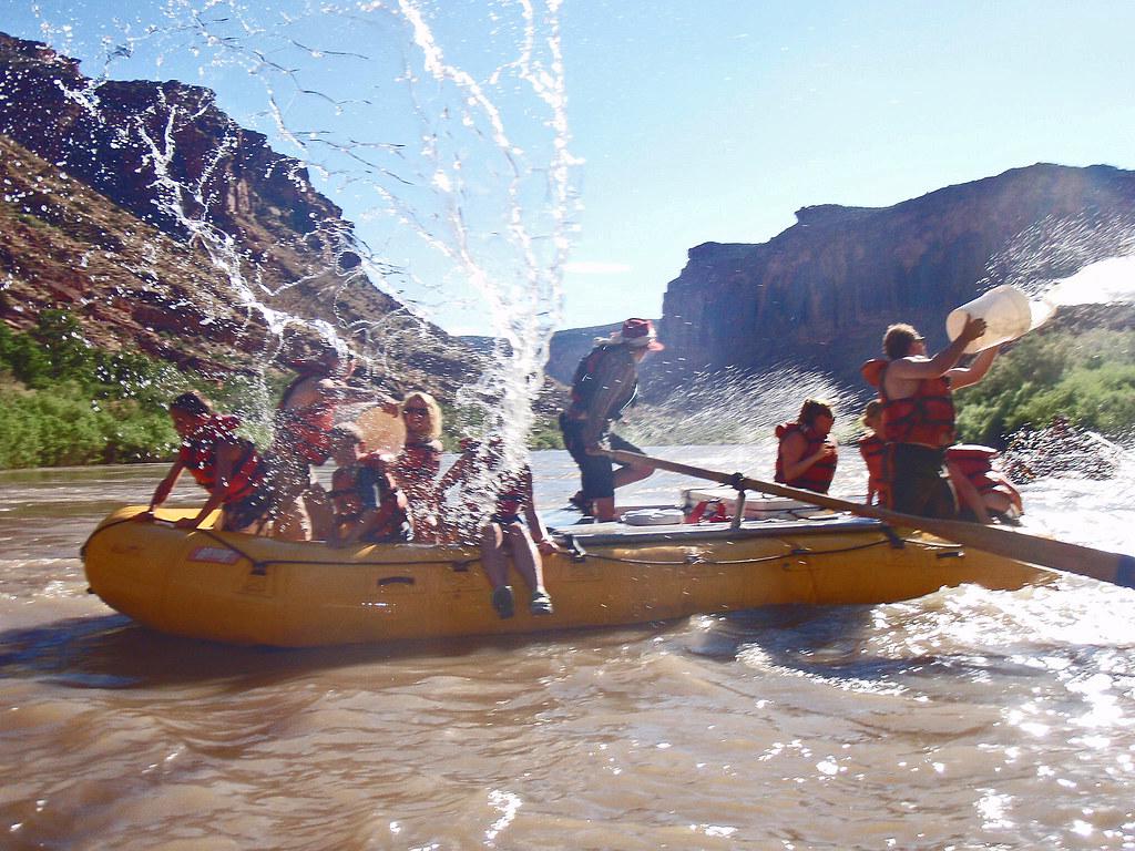 raften op de Colorado rivier