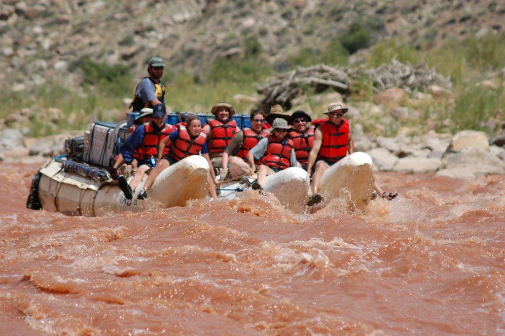 raften op de Colorador rivier