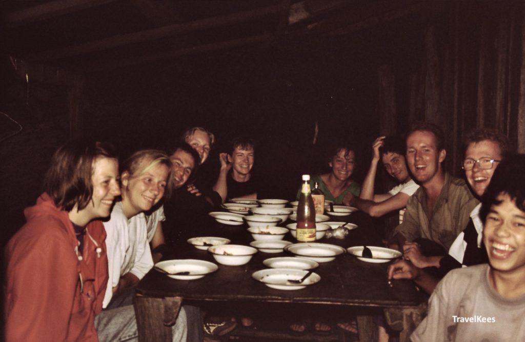 maaltijd tijdens chiang mai trekking
